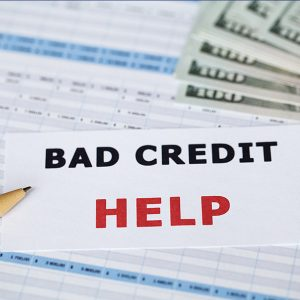we can help with bad credit